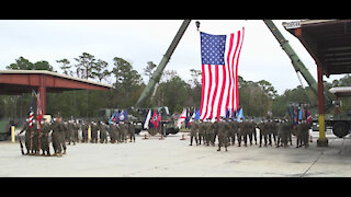 8th Marine Regiment Deactivation Ceremony