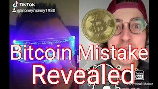 Bitcoin Mistake