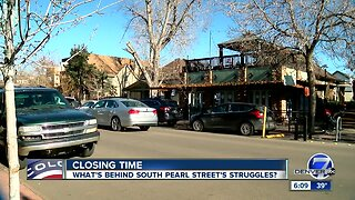 Questions about future of Denver's South Pearl Street after 3 restaurants close