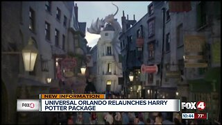 Universal relaunches Harry Potter vacation package