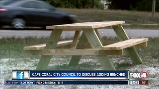 Cape Coral City Council to discuss adding benches