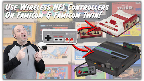 How to wire an adapter for the Nintendo Famicom to use NES Controllers
