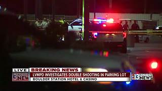 Double shooting in casino parking lot