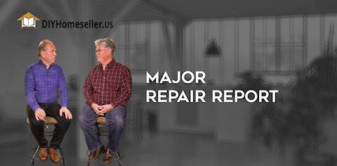 Major Repair Report