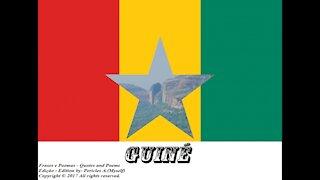Bandeiras e fotos dos países do mundo: Guiné [Frases e Poemas]