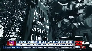 Day 14: Could the partial government shutdown impact your tax refund?