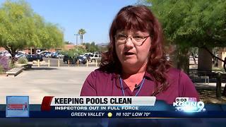 Keeping pools clean