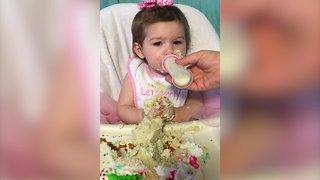 Babies Who LOVE Cake