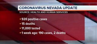 Nevada COVID-19 update
