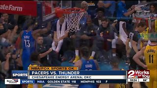 24-0 run in 3rd quarter fuels Oklahoma City Thunder in 107-99 defeat of Indiana Pacers
