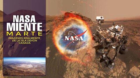 NASA MIENTE, MARTE IMÁGENES REALMENTE DE LA ISLA DEVON, CANADÁ