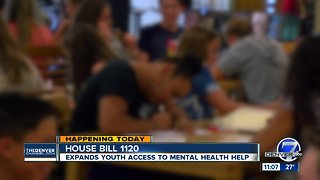 Colorado legislature considers bill that would expand youth mental health resources
