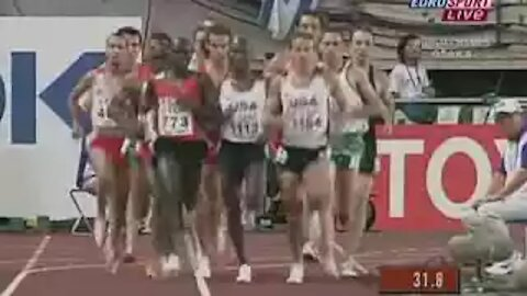 Athletics - Men's 1500M - Final and Victory Ceremony - Beijing 2008 Summer Olympic Games