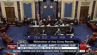 Judge Barrett Confirmation wrap