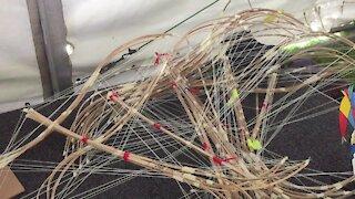 SOUTH AFRICA - Cape Town - Cape Town International Kite Festival Kite making (Video) (XhF)