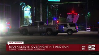Phoenix PD investigating deadly hit and run crash