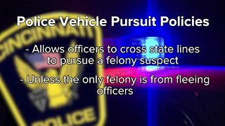 Police vehicle pursuit policies across the Tri-State