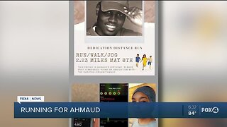Running for Ahmaud Arbery