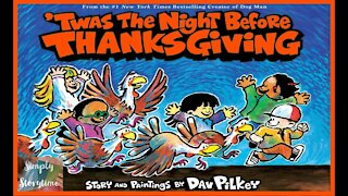 Twas The Night Before Thanksgiving || Read Aloud