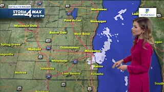 Partly cloudy skies Wednesday with slight chance of afternoon snow