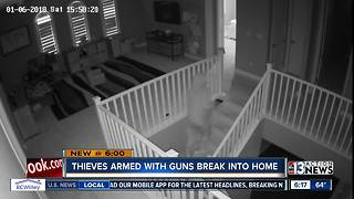 Thieves armed with guns break into Summerlin home