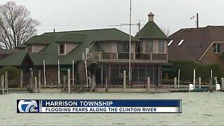 Flooding fears along the Clinton River