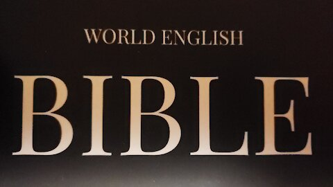 Psalm 23 in the World English Bible Translation!