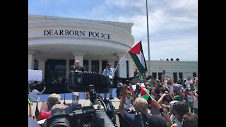 Protesters gather in Dearborn amid Biden's Ford visit