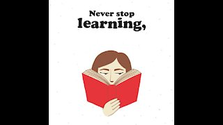 Never stop learning [GMG Originals]
