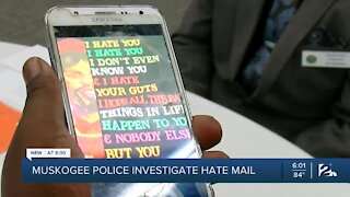 Muskogee Police Investigate Hate Mail