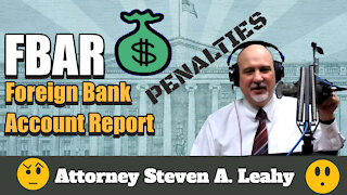FBAR - Foreign Bank Account Report Penalties