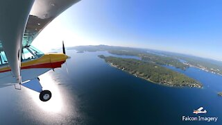 Great Super Cub Flying in New Hampshire