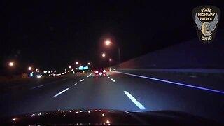 Trooper chase involving stolen car