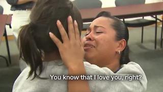 Mother, daughter reunited after 55 days