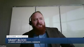 Blood says the political environment in the city over the last four years is part of what's driving him to run for a seat on the City Council.