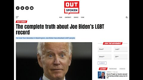 The complete truth about Joe Biden's LGBT record