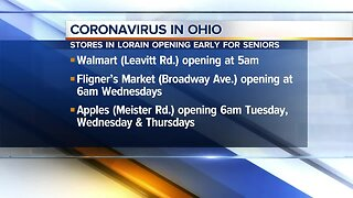 Local stores open for seniors