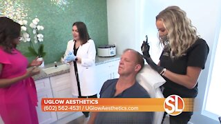 Have hair loss? UGlow Aesthetics creates medical-grade PRP for hair restoration treatments