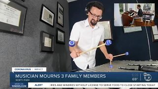 San Diego musician mourns family members, friends lost to COVID-19