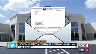 Lee County School District questioned for misusing $3.9 million dollars
