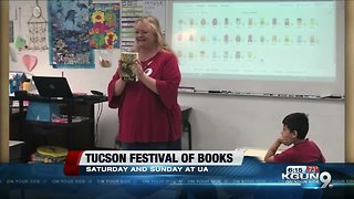 Festival of Books with author A.J. Flick