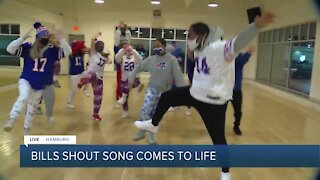 Future Dance Center getting us pumped for Saturday's game