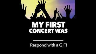 My first concert gif [GMG Originals]