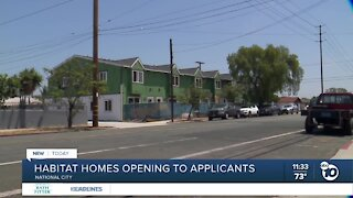 Habitat for Humanity homes opening to applicants