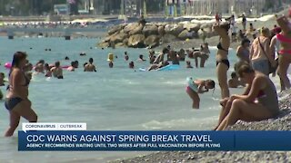 CDC warns against Spring Break travel