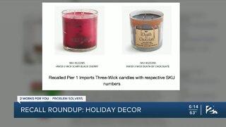 Recall Roundup: Holiday Decor