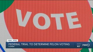 A federal judge takes a closer look at the legality of felon voter requirements in Florida