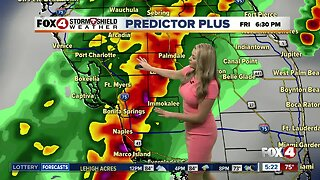 FORECAST: Storms Friday... cooler & less humid Easter weekend