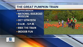 The Great Pumpkin Train this weekend