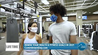 Renew Your Fitness Goals! // CommitmentDay.com